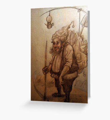 Dwarf sketch Greeting Card