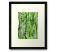 LIVING GREEN Framed Print