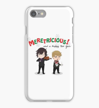 Meretricious and a Happy New Year iPhone Case/Skin