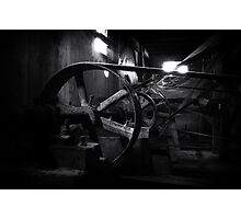 Old factory machine Photographic Print