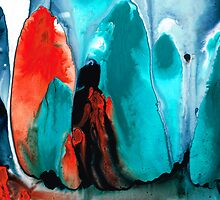 With You Always - Spiritual Painting Art by Sharon Cummings