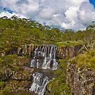 Ebor Falls Lookout by Ian Fraser
