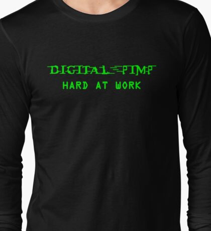 Digital Pimp Long Sleeve T-Shirt