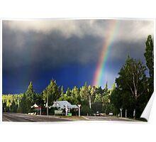 Rainbow drama Poster
