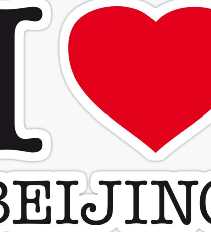 I ♥ BEIJING Sticker