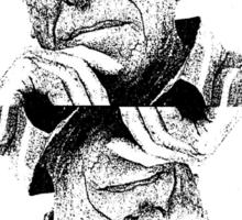 Charles Bukowski. Sticker