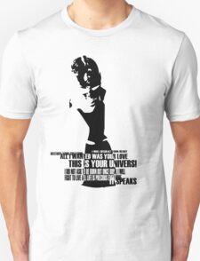 It speaks Unisex T-Shirt