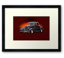 1934 Ford Coupe w/o ID Framed Print