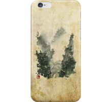 Misty Valley Traditional Chinese Landscape iPhone Case/Skin