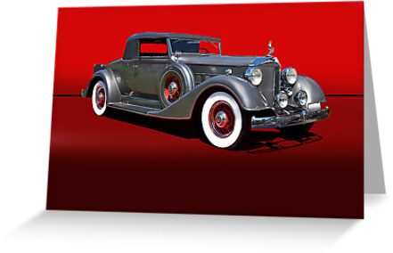 1934 Packard 1101 Eight Coupe w/o ID by DaveKoontz