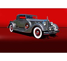 1934 Packard 1101 Eight Coupe w/o ID Photographic Print