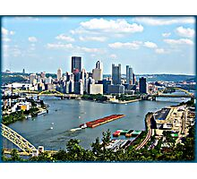 """My Home Town! """"The Burgh"""" Pittsburgh PA. Photographic Print"""