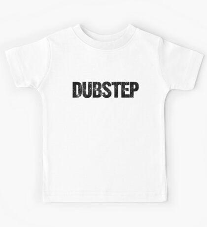 DUBSTEP (black) Kids Tee