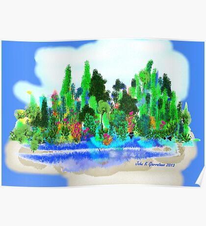 ACEO Landscape Fantasy Forest 1 Poster