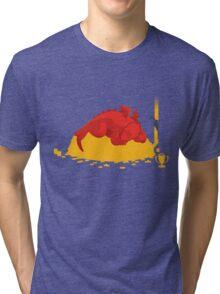 Sleeping Dragon Tri-blend T-Shirt