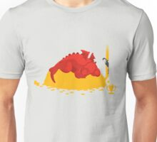 Sleeping Dragon Unisex T-Shirt