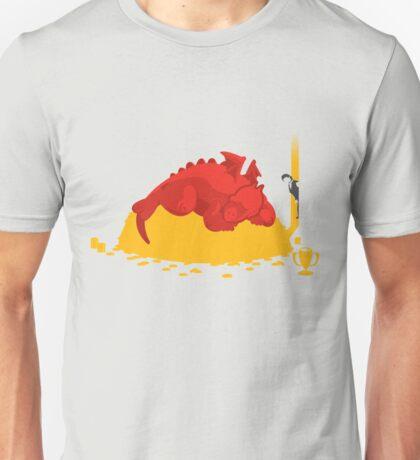 Sleeping Dragon Unisex T-Shirt
