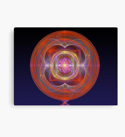 Dilithium Crystal Canvas Print