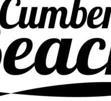Cumber Beach Sticker