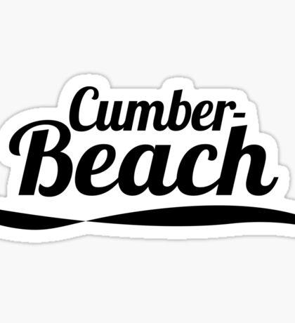 Cumber Beach Sticker