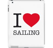I ♥ SAILING iPad Case/Skin