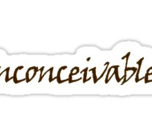 inconceivable Sticker