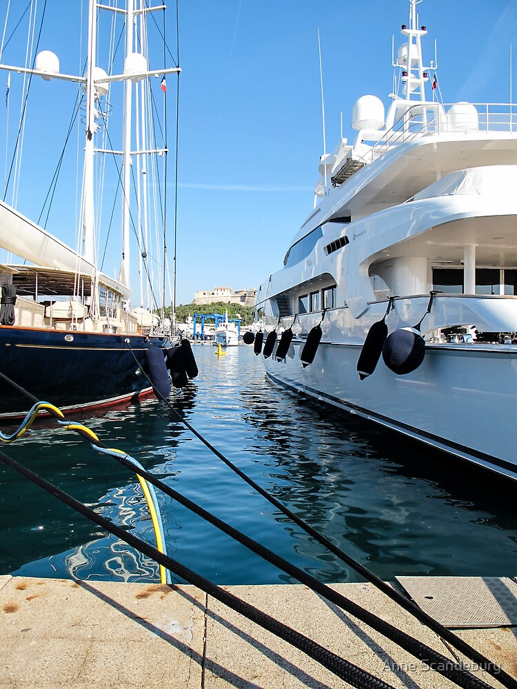 super yachts by Anne Scantlebury