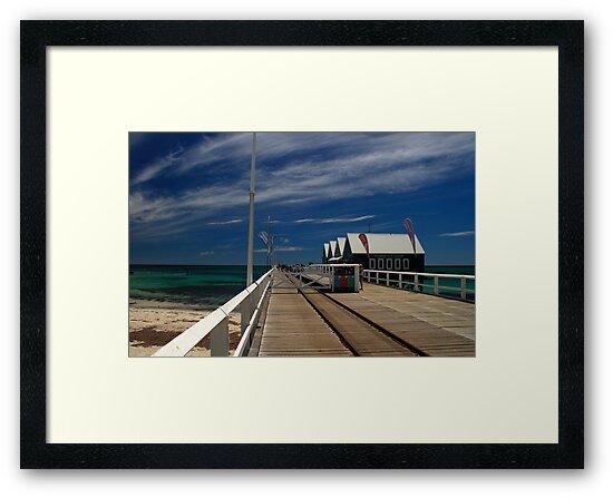 Busselton Wharf - Western Australia by Noel Elliot
