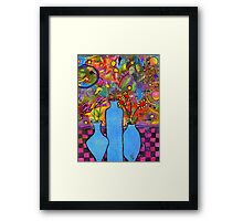 An Abstract Still Life Framed Print