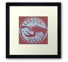 More Lobster Rolls - Martha's Vineyard Framed Print