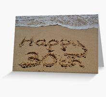 Happy 30th Birthday Greeting Card