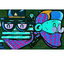 Funk Grafitti Photographic Print