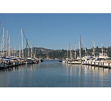 Sausalito Harbor Photographic Print