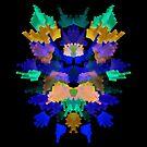 Neon Rorschach II by James McKenzie