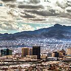 Winter Day in El Paso, Texas by Ray Chiarello