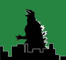 Godzilla by RobsteinOne