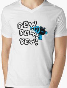 Pew pew pew! Mens V-Neck T-Shirt