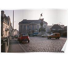 1851 Statue of William Falaise Square 19840217 0051 Poster
