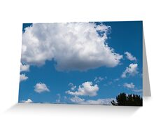 Clouds 13 Greeting Card
