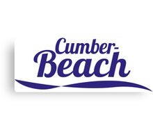 Cumber Beach Canvas Print