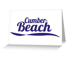 Cumber Beach Greeting Card