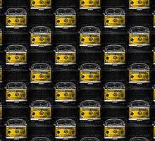 Yellow combi Volkswagen by benbdprod