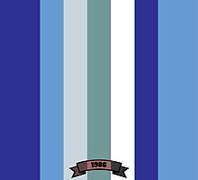 Cool Color Stripe Pattern by thejoyker1986