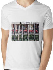 Telephone  Mens V-Neck T-Shirt