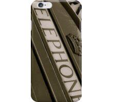 British black and white Phone box iPhone Case/Skin