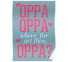 Where For Art Thou, Oppa?  Poster