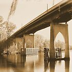 Waccamaw River Memorial Bridge by Dawne Dunton