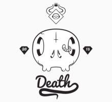 Horsemen Death - Black & White by Noth