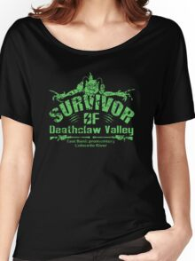 Deathclaw Valley Survivor Women's Relaxed Fit T-Shirt