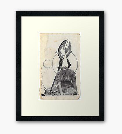 Spoon me Framed Print